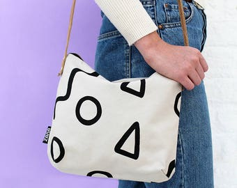 Shapes Shoulder Bag - Sling Bag