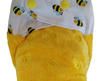 HIVE & SEEK - snap in one multi fit nappy