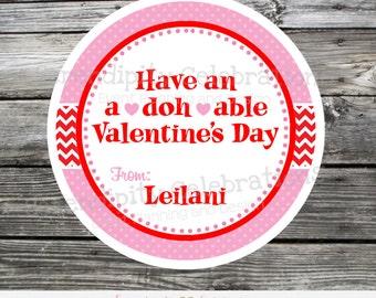DIY Play doh Valentine Tag, Printable Valentine Tags, Valentine's Day, Valentine Cards, Valentine Stickers, Play Dough, Kids Valenetines