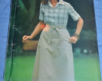 See & Sew 3204  MIsses SKirt and Shirt  Sewing Pattern - UNCUT - Sizes 12 14 16