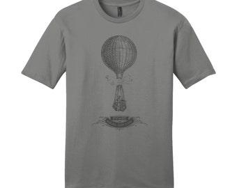Hot Air Balloon Shirt Science Shirt Science TShirt Gas Laws Mens Shirts Nerdy TShirt Teacher Shirts for Teachers Chemistry Teacher Gifts Fun