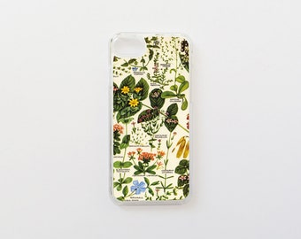 iPhone 7 Case - Botanical iPhone Case - Floral iPhone Case - iPhone 7 Case - Hard Plastic or Rubber