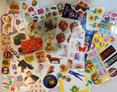 Mystery Grab Bag Sticker Pack- random sticker pack, gift for teen, tween, girl, snail mail planner scrapbooking school supplies