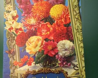 Cuthbert's Book of Summer Flowers 1963