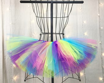 Peyton Tutu - Neon Tutu - Available in Infant, Toddlers, Girls, Teenager, Adult and Plus Sizes