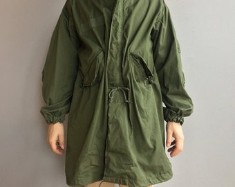 Military Green Fish tail parka