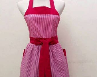 Retro  apron  Cute apron full apron  vintage apron classic retro apron FREE SHIPPING
