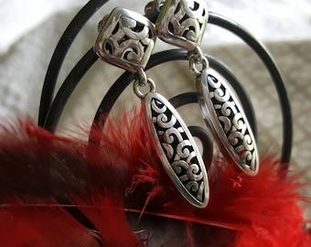 Sterling Silver Dangle Earrings (st- 1930)