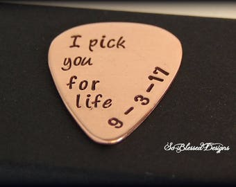 I Pick You For Life Groom Gift Wedding Fiance Customized