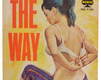 Vintage 60s All the Way by Mike Avallone Pulp Novel Paperback Book