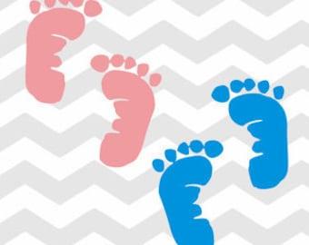 Baby Feet Decal