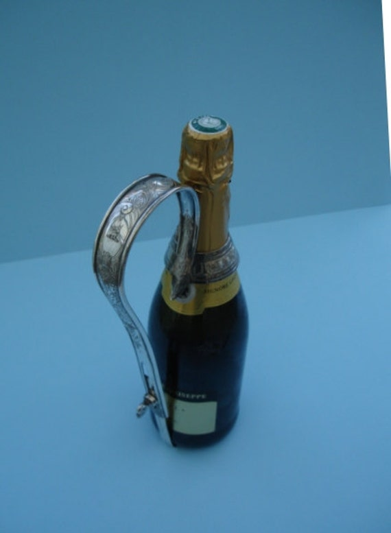 Victorian Silver Plated Champagne Bottle Holder