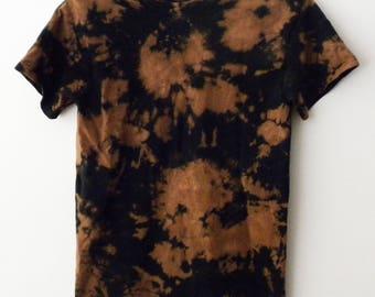 Tee shirt, Acid wash Tee Shirt, Tie dye Tee shirt, Black T-shirt, acid wash T-shirt, Tie dye T-shirt, Grunge, T-shirt, retro, hipster