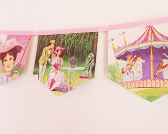 Mary Poppins- A Jolly Holiday Little Golden Book Bunting