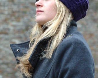 Mayrose beret PDF knitting pattern (instructions)