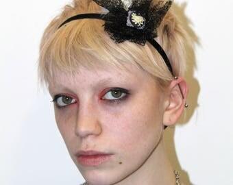 vintage 90s punk rock boho multi purpose headband