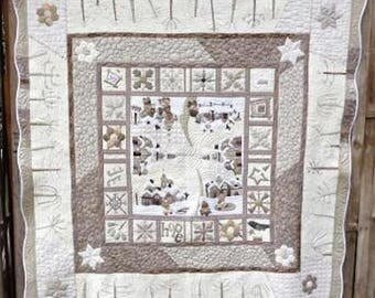 Pattern: The Winter Quilt from Hand Made by Margott by Malgorzata J.Jenek Designs