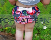 Diaper Cover PDF,baby sewing patterns,diaper cover pattern, nappy cover pdf, baby nappy pdf, sewing patterns, easy patterns, toddler pattern