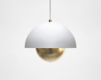 Modern Pendant Light - Mid Century Pendant Light - Minimal Pendant L& - Brass Pendant Light & Modern Pendant Light Mid Century Pendant Light Industrial azcodes.com