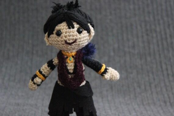 Dragon Age Amigurumi : Morrigan Amigurumi Crochet Plush Doll