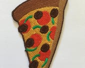 Pizza Slice Deluxe Iron On Patch