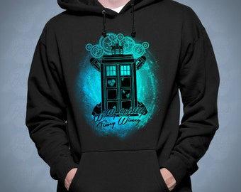 Wibbly Wobbly Timey Wimey - Doctor Who Hoodie or Sweatshirt | Sweater for Women Men | Funny t-shirt for kids