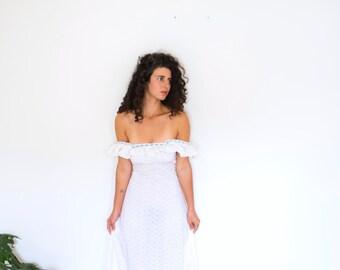 Wind Prairie Cotton Gown