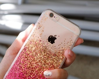 Gorgeous (Pink) - glitter case iphone 7 case iphone 7 plus case iphone 6s case iphone 6s plus case iphone 6 case iPhone 6plus case