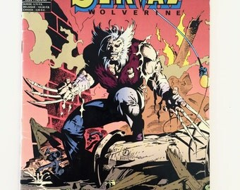 Serval Wolverine - Issue 34 - French Edition 1995 - Marvel Comics