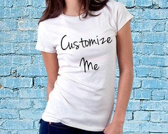 Custom T-Shirt Printing, Make Your Own T-Shirt. Say What you Want, or Add a Picture