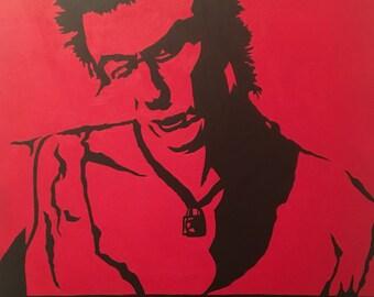 Sid Vicious (acrylic on canvas)
