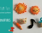 Miniature amigurumi Crochet PATTERN
