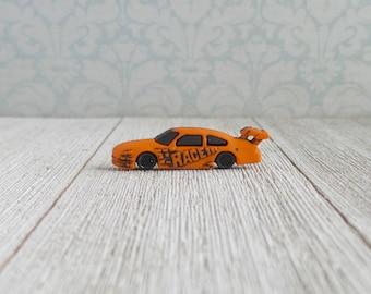 NASCAR- Groomsmen Gifts- Race Car- Orange Race Car- Tie Tack or Lapel Pin