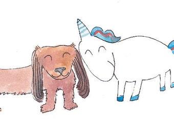 Custom Children's Book Illustrations