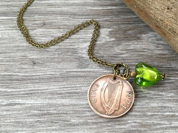 Sea glass and coin jewellery and accessories