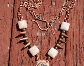 Jasper and Copper Necklace