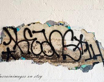 Graffiti Art, Industrial Wall Art, Urban Wall Art