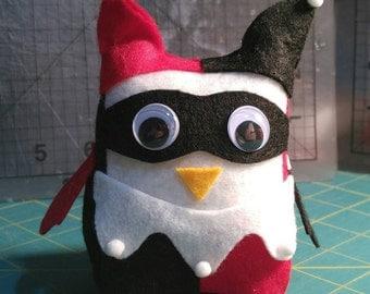 Harley Quinn Mini Owl Stuffie