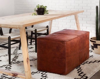 Modern Geometric Dining Table