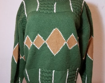 FREE  SHIPPING   Retro Abstract Sweater