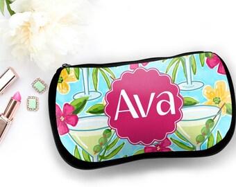 Monogrammed Makeup Bag, Personalized Makeup Bag, Personalized Cosmetic Bag, Monogrammed Cosmetic Bag, Make-Up Bag