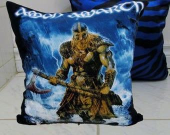 Amon Amarth Pillow DIY Folk Metal Decor 2 (Cover or Full Pillow)