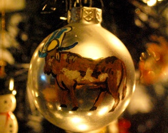 Ancient Egyptian Apis Bull Holiday Ornament