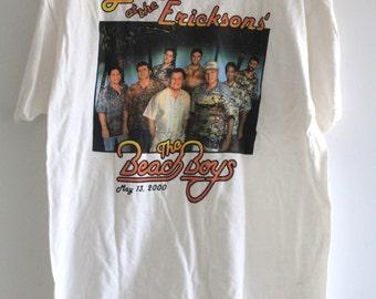 Beach Boys 'Live at Erickson's'  White Tour Shirt