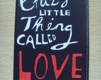 Crazy Little Thing Called Love Mini Story Book Zine - Anniversary, Valentines Day