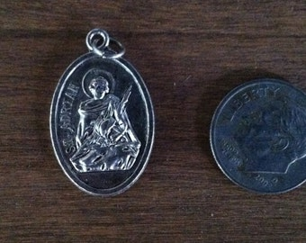 St. Adrian holy medal