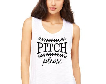 Pitch Please Muscle Tank. Baseball Shirt. Baseball Mom. Softball Mom. Baseball Yall. Love Baseball. Batter Batter. Play Ball. Funny Baseball