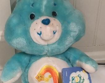 Care Bears 1980s SALE  Wish Bear With Original Tag