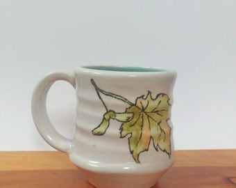 Autumn Leaves and Helicopters Mug