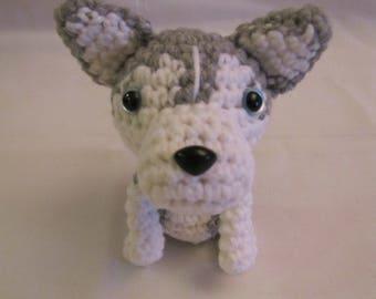 SIBERIAN HUSKY - Crochet Amigurumi - Crochet Dog, Crochet Puppy